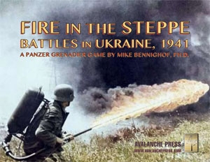 Panzer Grenadier Fire in the Steppe