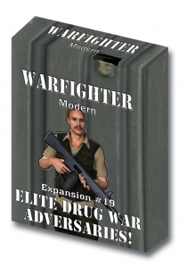 Warfighter Modern - Expansion 19 Elite Drug War Adversaries and Soldiers