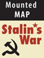 Stalin's War Mounted Map