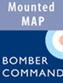 Bomber Command Mounted Map