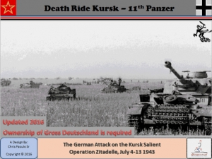 Death Ride Kursk 11th Panzer