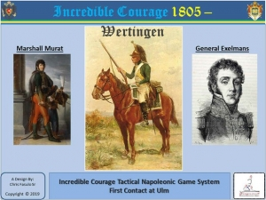 Incredible Courage 1805: Wertingen