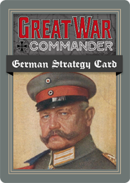 German Strategy Card